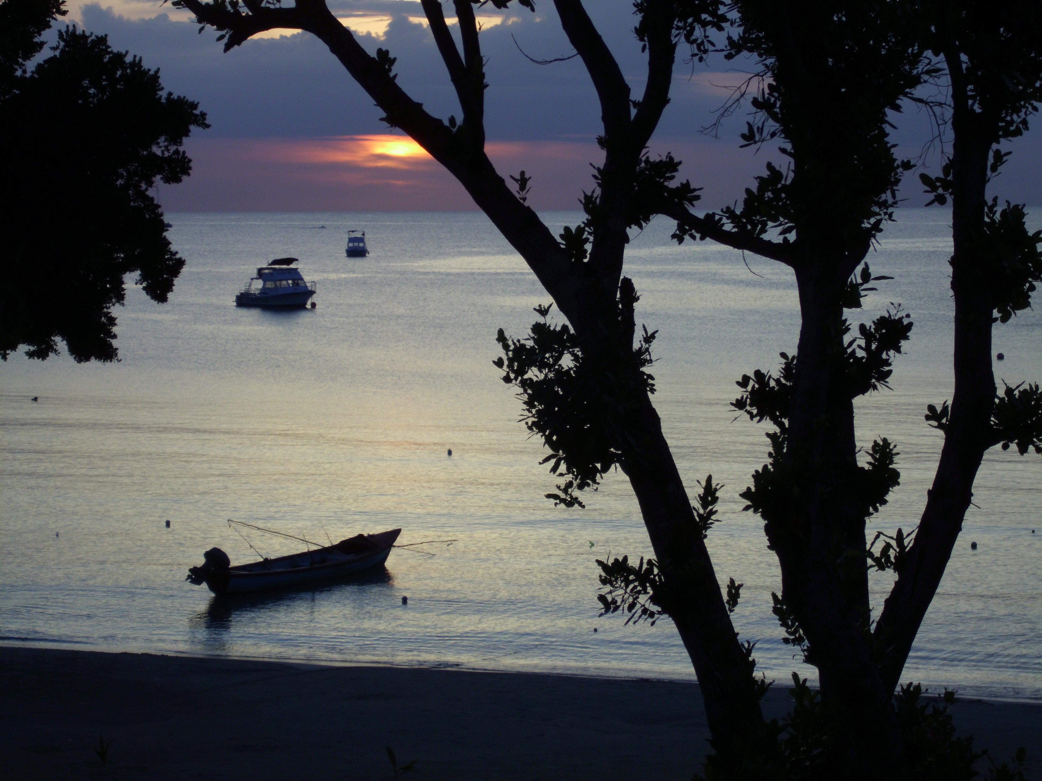 Jamaica Bloody Bay am späten Abend