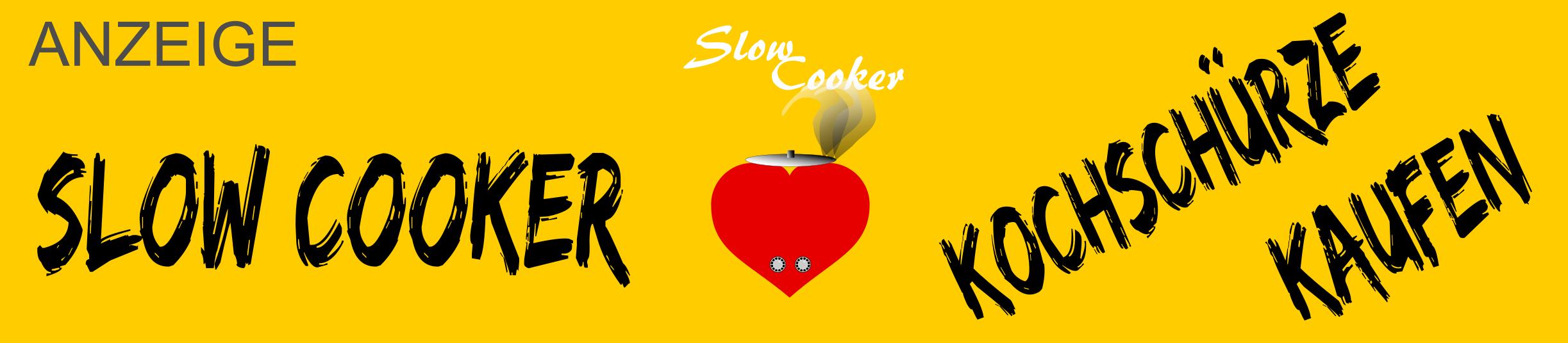 Slow Cooker Fan Merchandising Grillschürze / Kochschürze