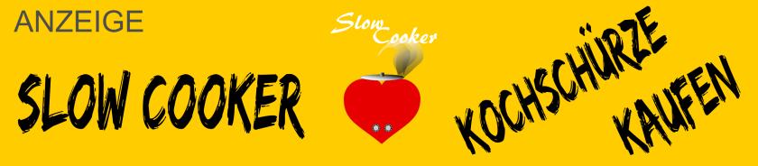 Slow Cooker Kochschürze /Grillschürze kaufen. Zeig deine Liebe zum Slow Cooker.