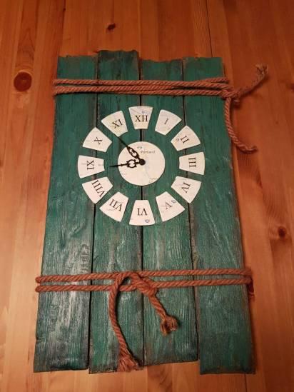 Eine Uhr selber gebaut. DIY Anleitung - how to