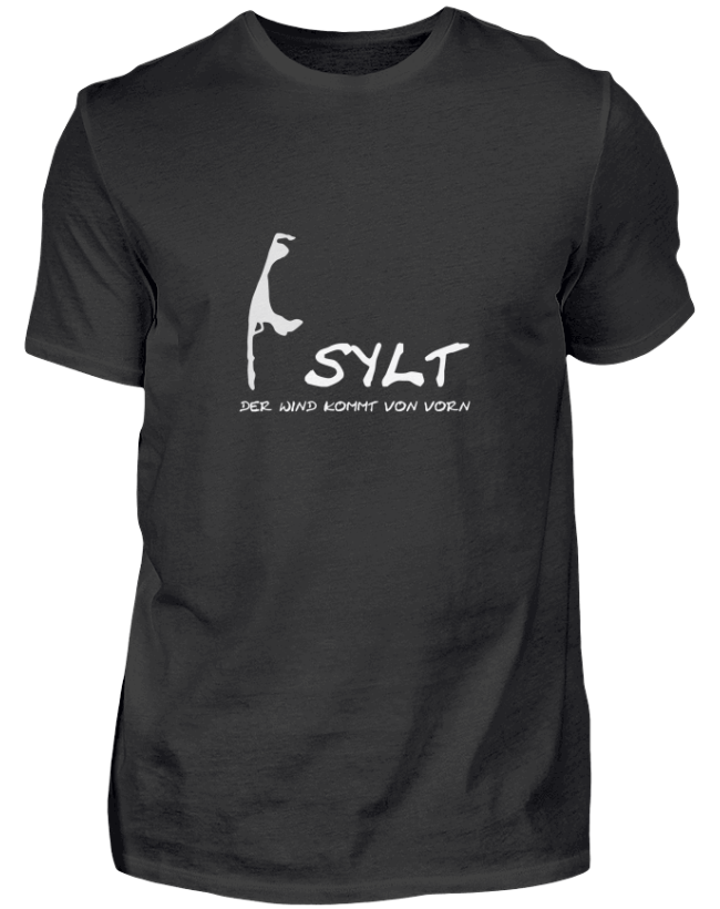 SYLT - DER WIND KOMMT VON VORN Geschenkidee T-Shirt