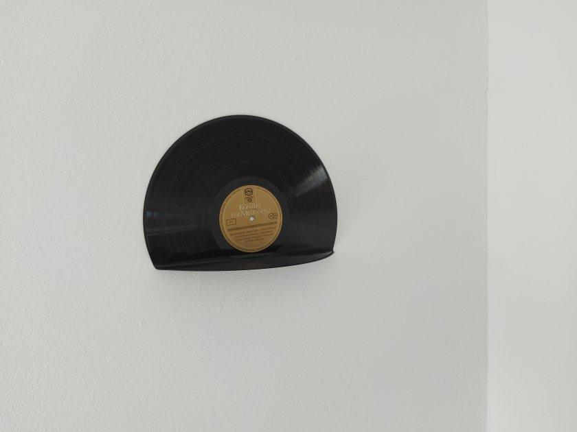 Schallplatte Regal Wandregal