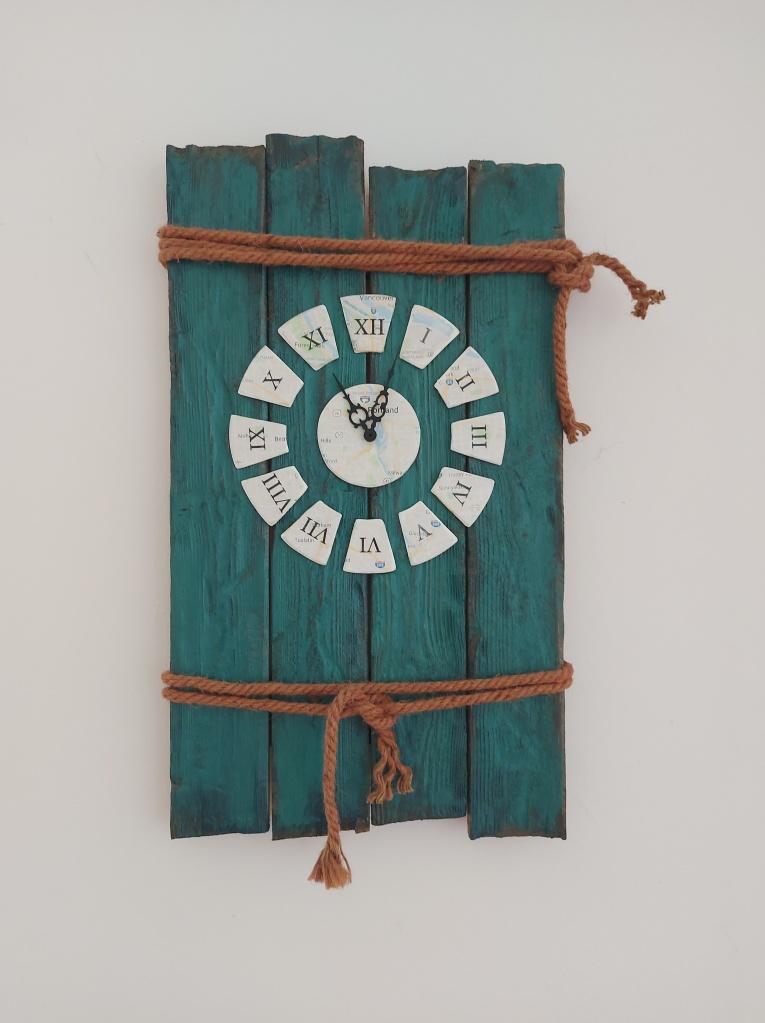 DIY Uhr Wanduhr Wanddeko Thema Portland Oregon USA