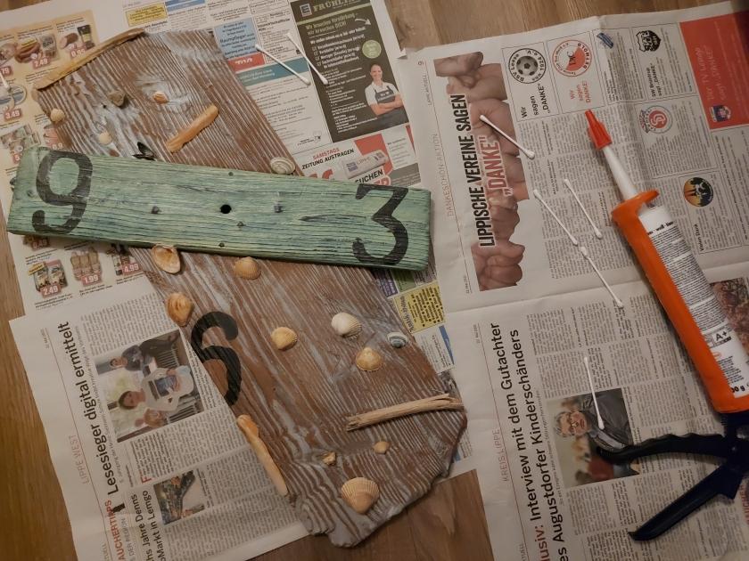 DIY Wanduhr selber bauen DIY Blog