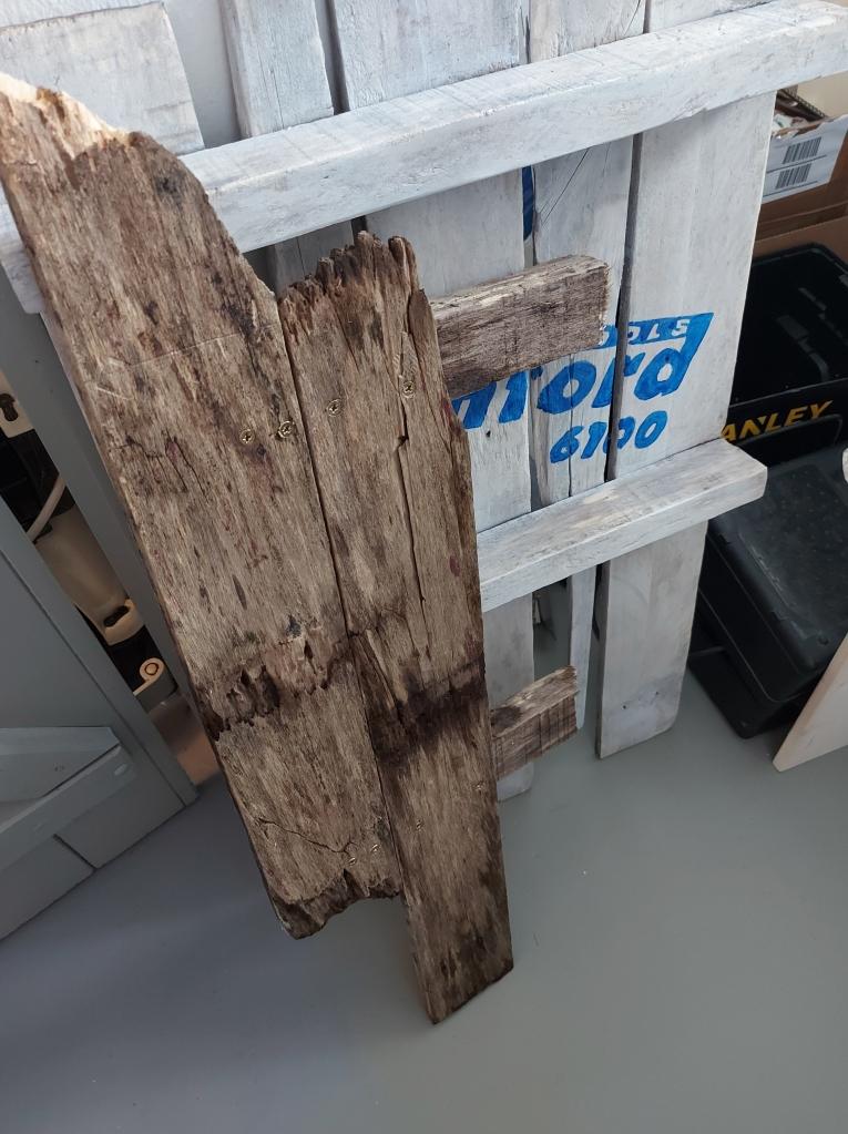Holzpalette Garderobe Palette DIY Blog