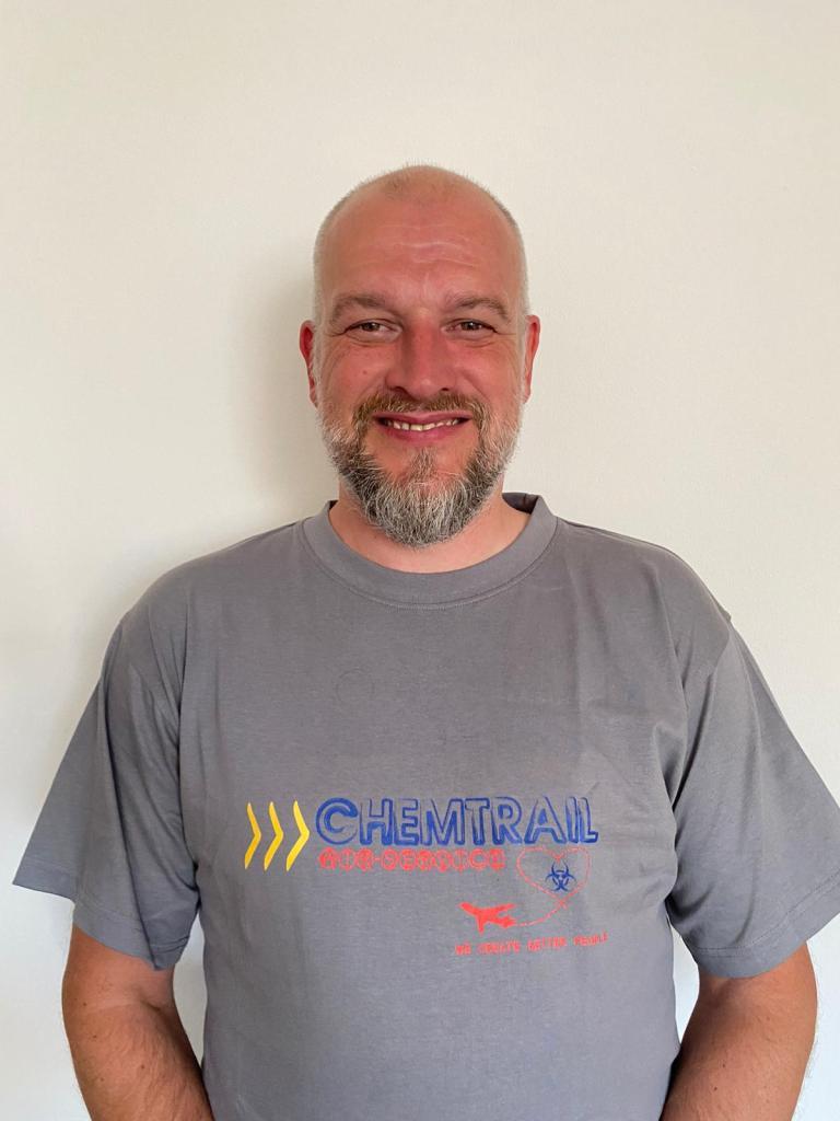 Chemtrail Air Service T-Shirt Satire